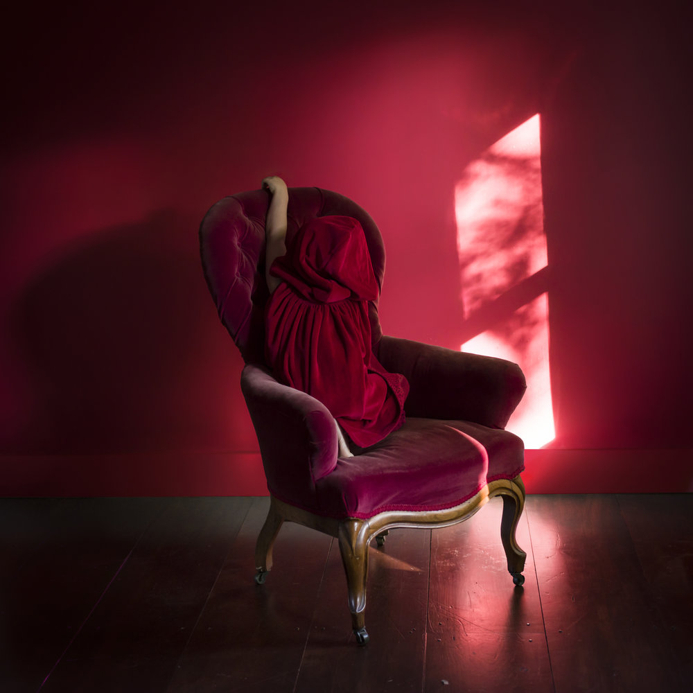 CIG HARVEY, Red Cloak, 2015