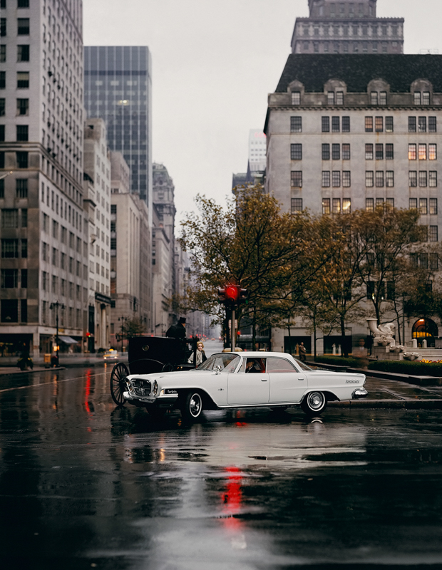 WILLIAM HELBURN,  Chrysler New Yorker,   Fifth Avenue, New York,  1962
