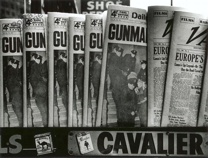 WILLIAM KLEIN, Gun, Gun, Gun , New York, 1955