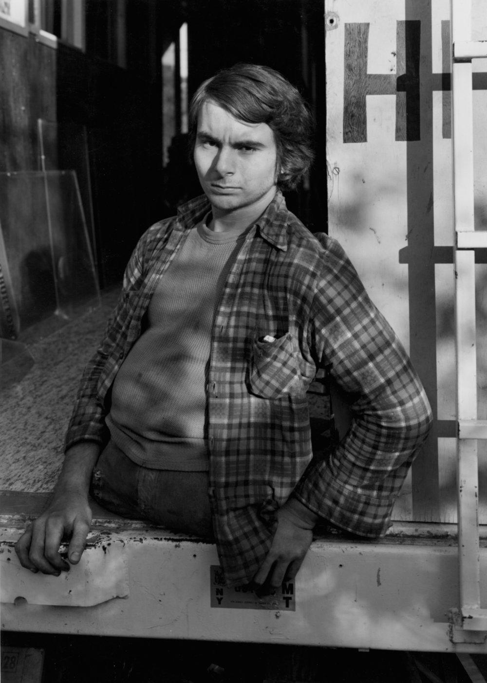 RANDAL LEVENSON,  Quarterboy, Gibsonton, Florida , 1974
