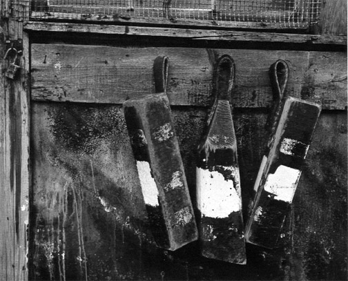 AARON SISKIND,  Gloucester  (Three Buoys), 1944