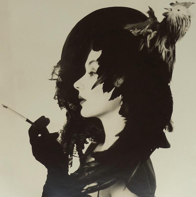 IRVING PENN, Woman in Chicken Hat  (Lisa Fonssagrives-Penn), New York, ca. 1949