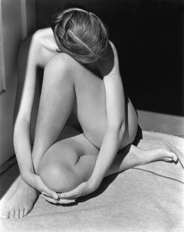 EDWARD WESTON, Charis in Doorway, Santa Monica, 1936