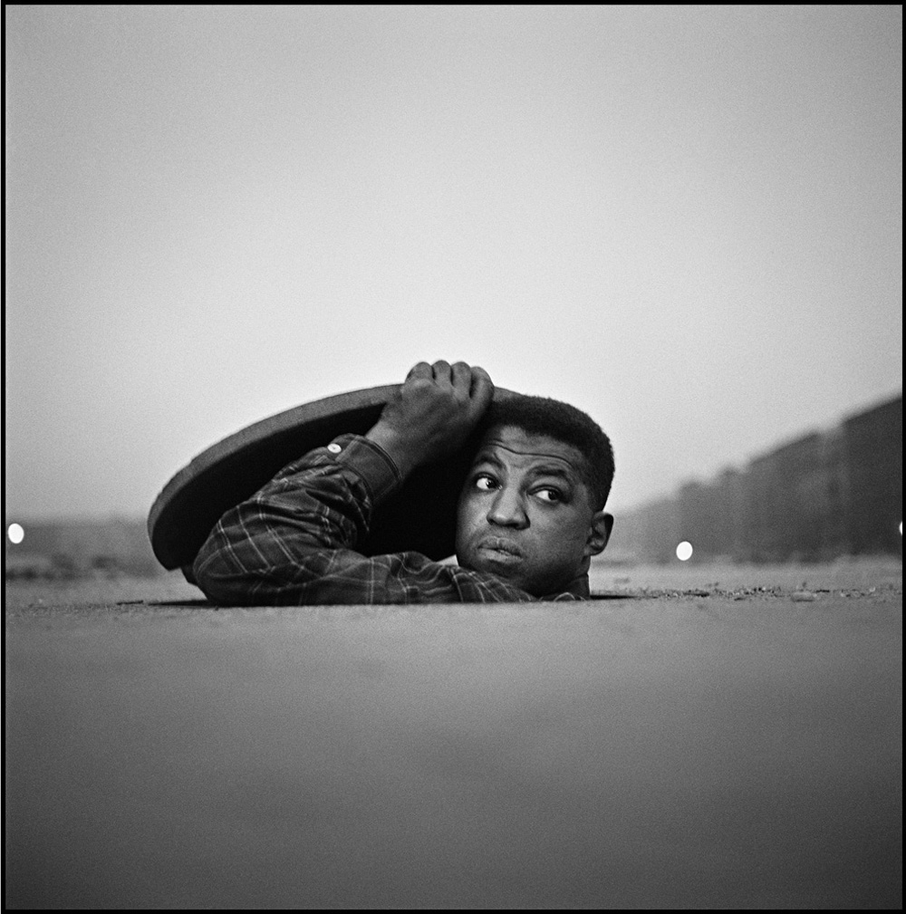 GORDON PARKS,  Invisible Man , 1952                                                                                                                                                                    © The Gordon Parks Foundation