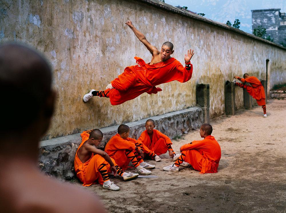 STEVE MCCURRY,  Shaolin Monastery, Hunan Province, China,  2004