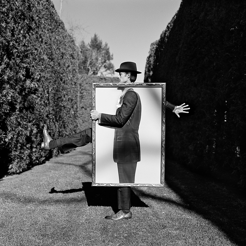 RODNEY SMITH,  Nathan Holding Portrait of Himself , Amenia, New York, 2011