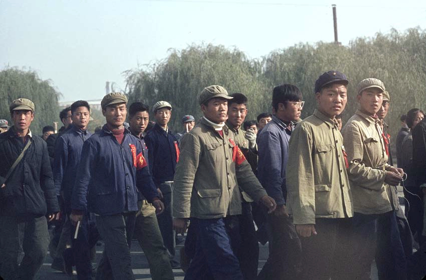 SOLANGE BRAND, Bejing, 1966