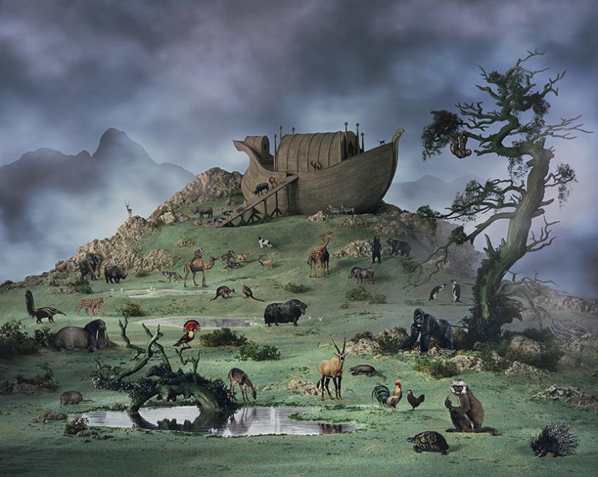 DIDIER MASSARD, Noah's Ark , 2017