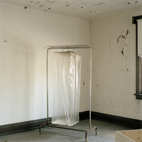 "iNTERIOR #46, Derelict Apartment Building   From the series ""Empty Houses"", 2014"