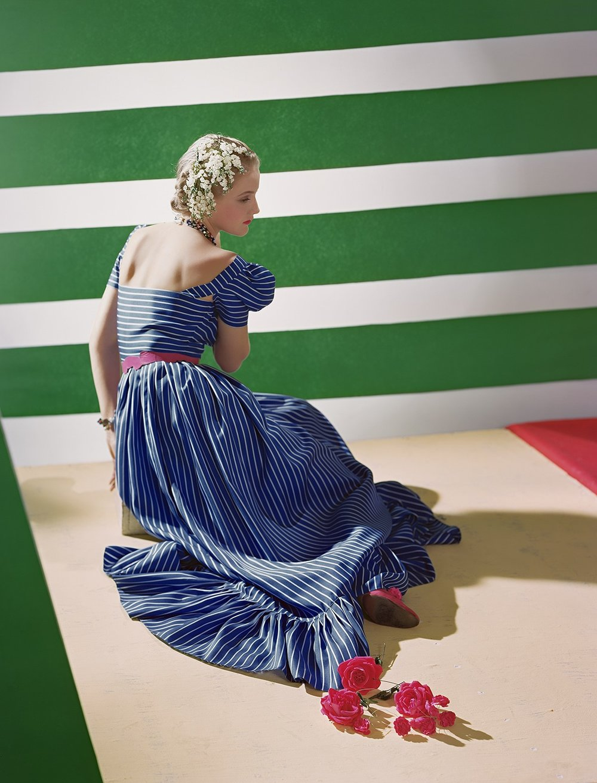 HORST P. HORST,  Dress by Hattie Carnegie,  1939