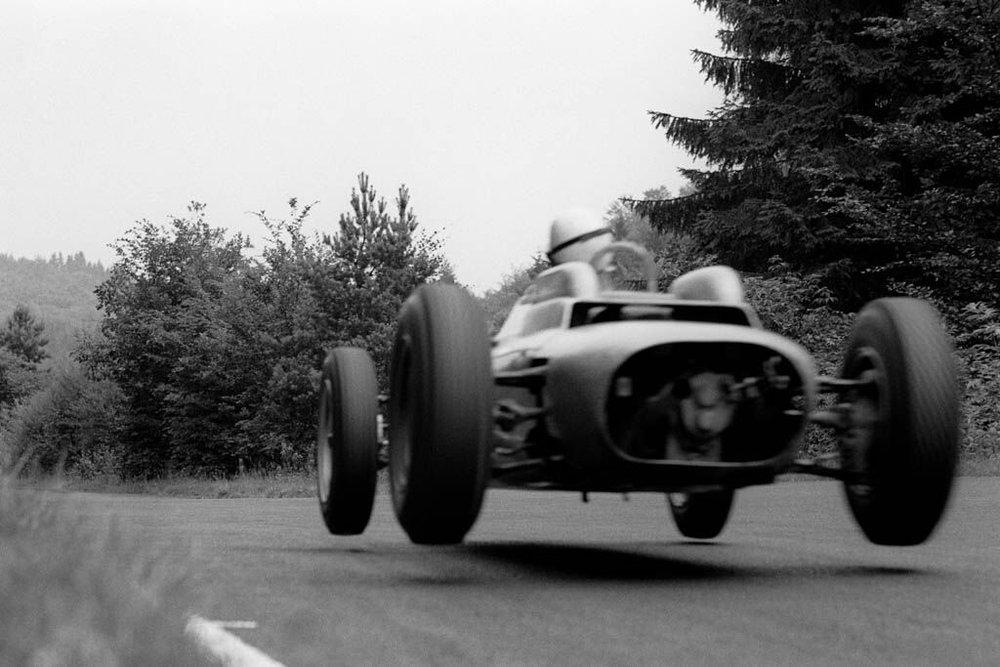 JESSE ALEXANDER, Porsche F2 Type 718 ,  Nurburgring , 1962