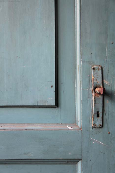 JESSICA BACKHAUS,  Blue Door  ( One Day),  2010