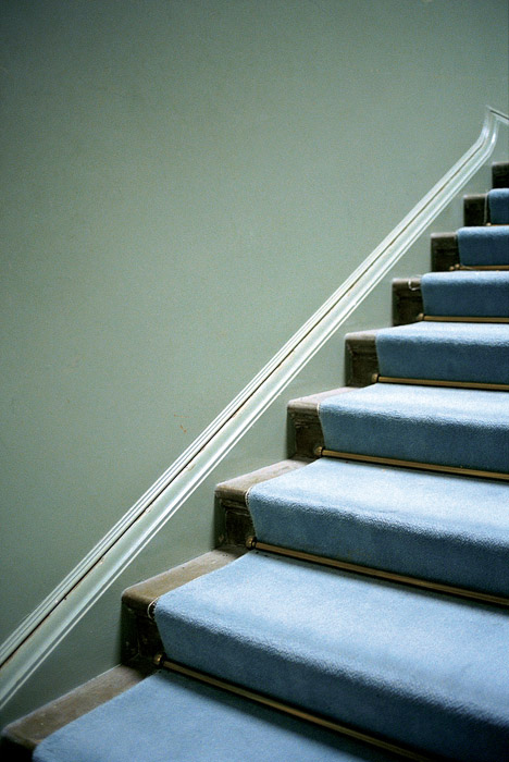JESSICA BACKHAUS,  Steps   (One Day in November) , 2002