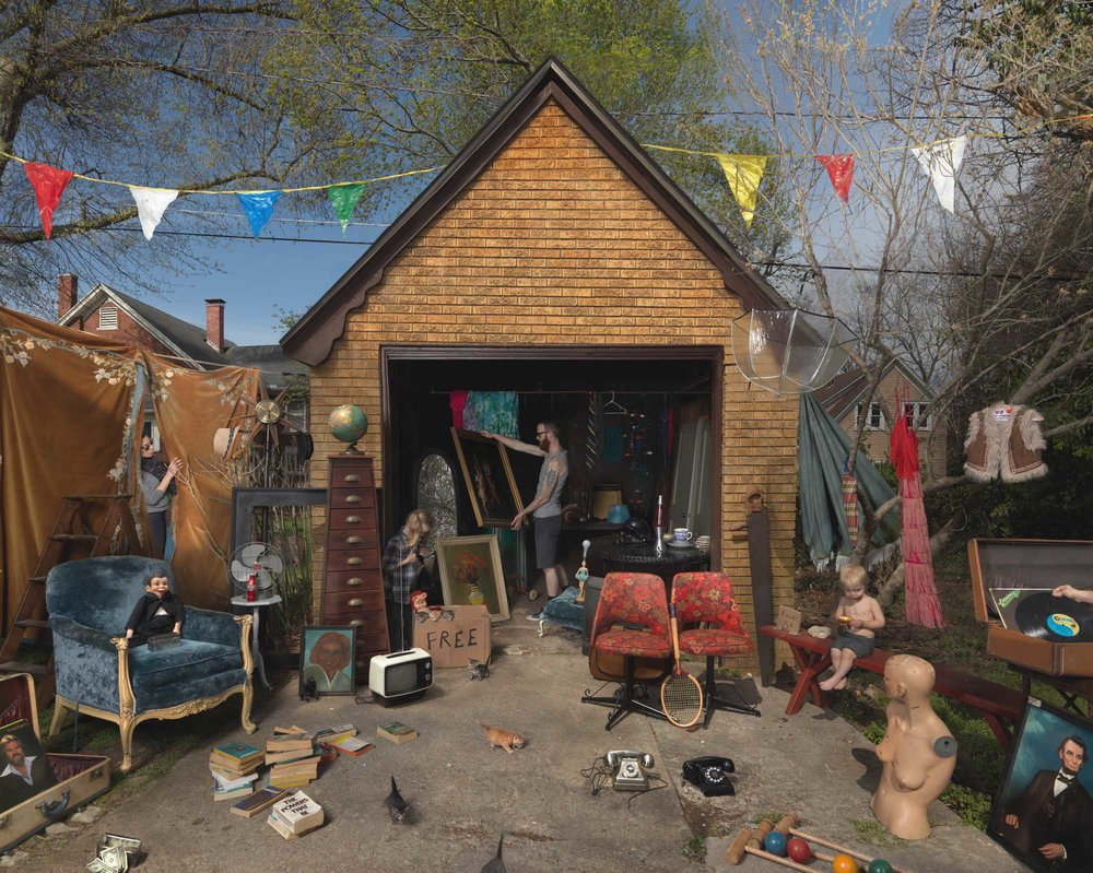 JULIE BLACKMON,  Garage Sale   (Homegrown) , 2013