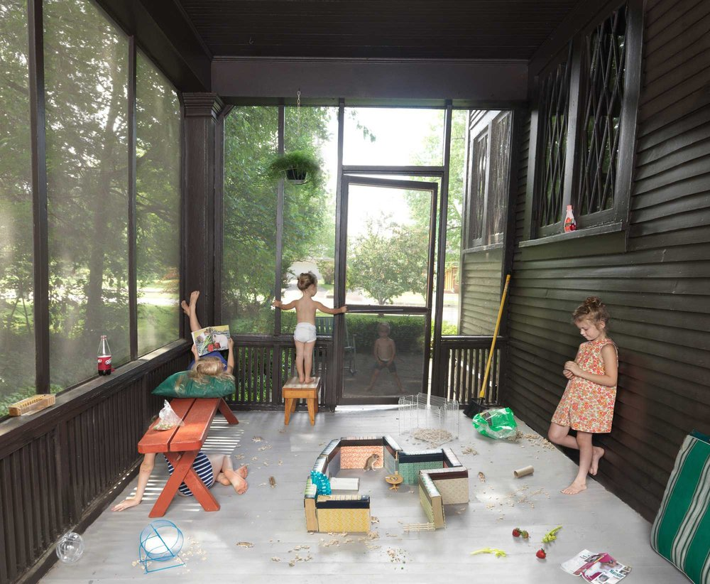 Julie Blackmon,  The Hamster Handbook
