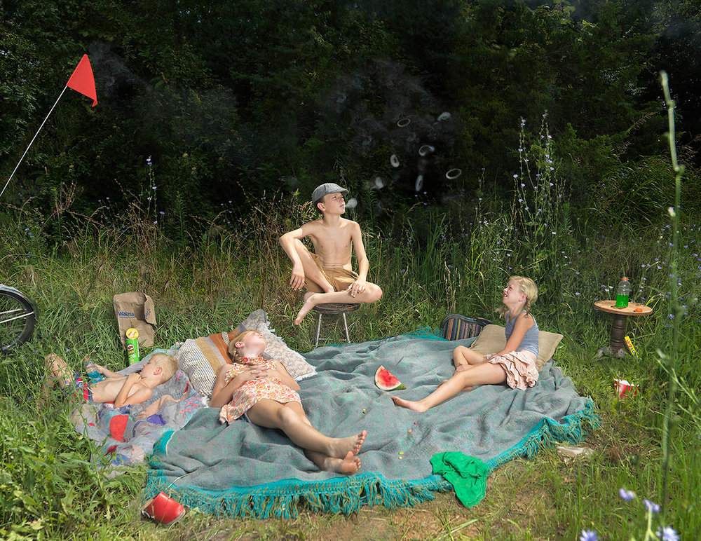 Julie Blackmon,  Weeds