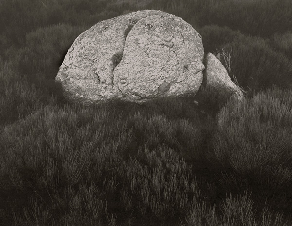 KOICHIRO KURITA,  Rock on Gonet, Lozere, France,  1996