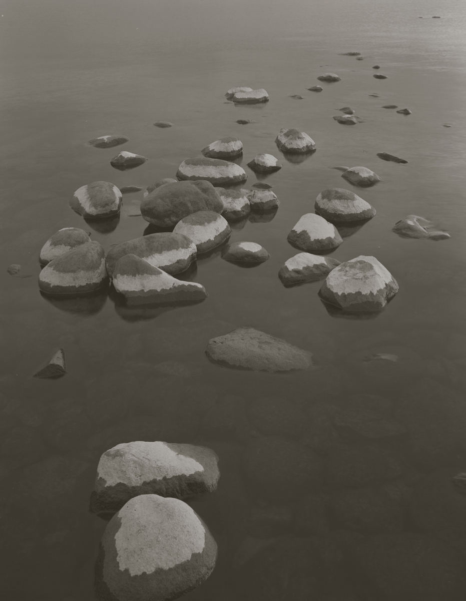 KOICHIRO KURITA,  Stone in the Lake, Lake Superior, Minnesota,  1999