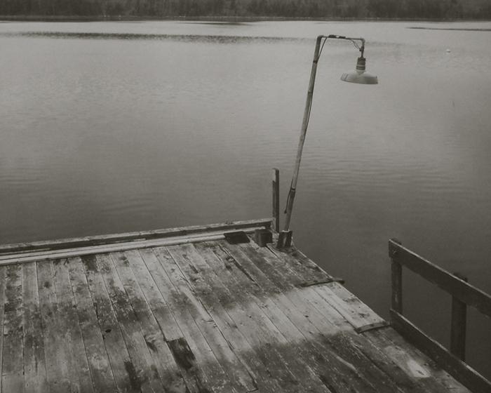 KOICHIRO KURITA,  SMall Pier, Nova Scotia, Canada,  1989