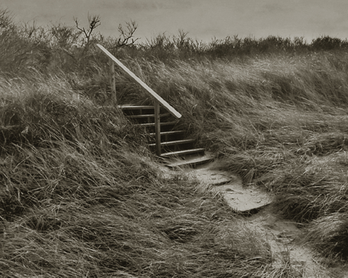 KOICHIRO KURITA,  Steps, Cape Cod, Massachusetts,  1991
