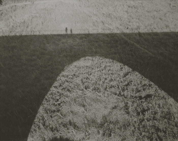 KOICHIRO KURITA,  Two Shadows, Lozere, France,  1996