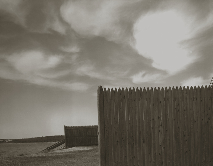 KOICHIRO KURITA,  Wood Fence, Cape Cod, Massachusetts,  1991