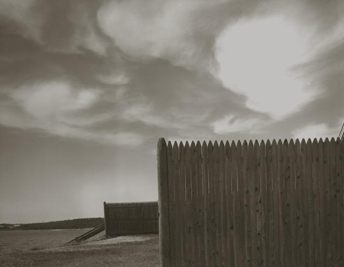 KOICHIRO KURITA,  Wood Fence, Cape Cod, Massachusetts,  1991