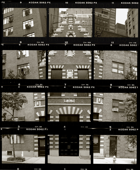 KOICHIRO KURITA,  A Town House, Murray Hill, New York City,  1991