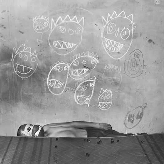 Roger Ballen, Room of the Ninja Turtles, 2003