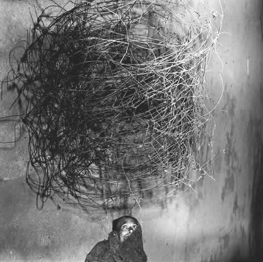 Roger Ballen,  Twirling Wires, 2001