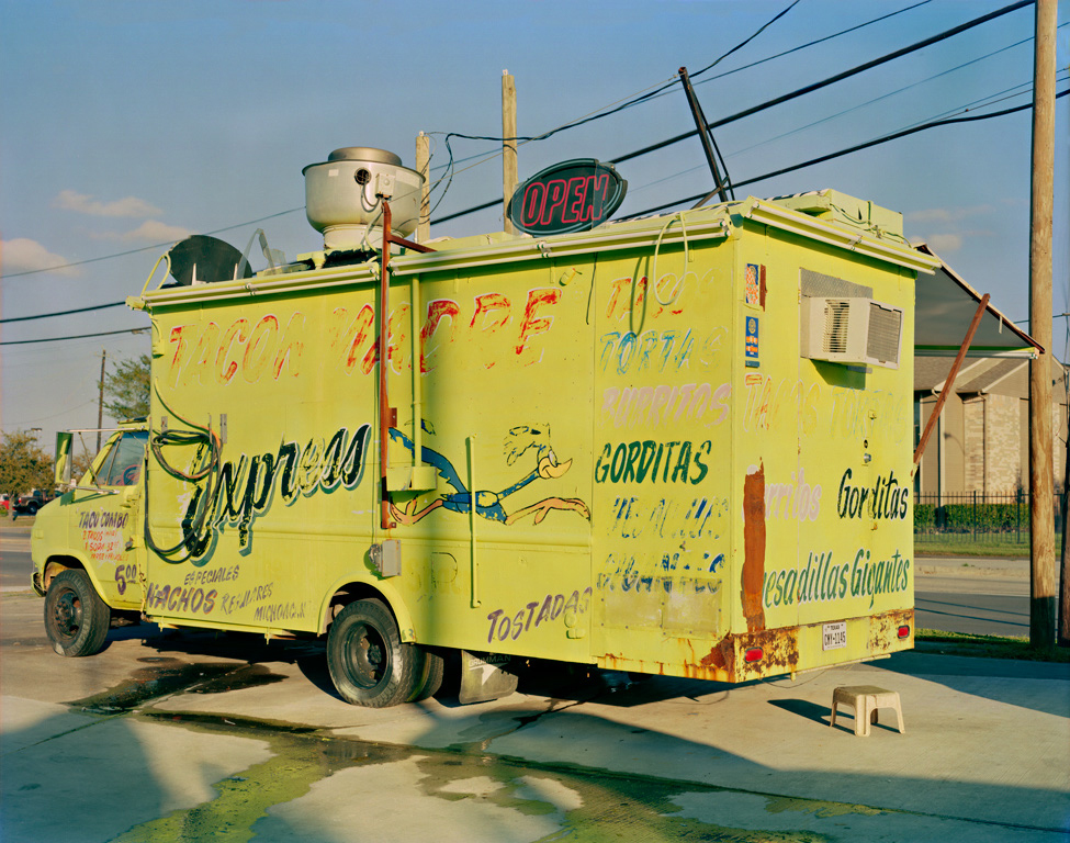 Jim Dow,  Taco Madre Express Taco Truck,  Houston, TX 2014