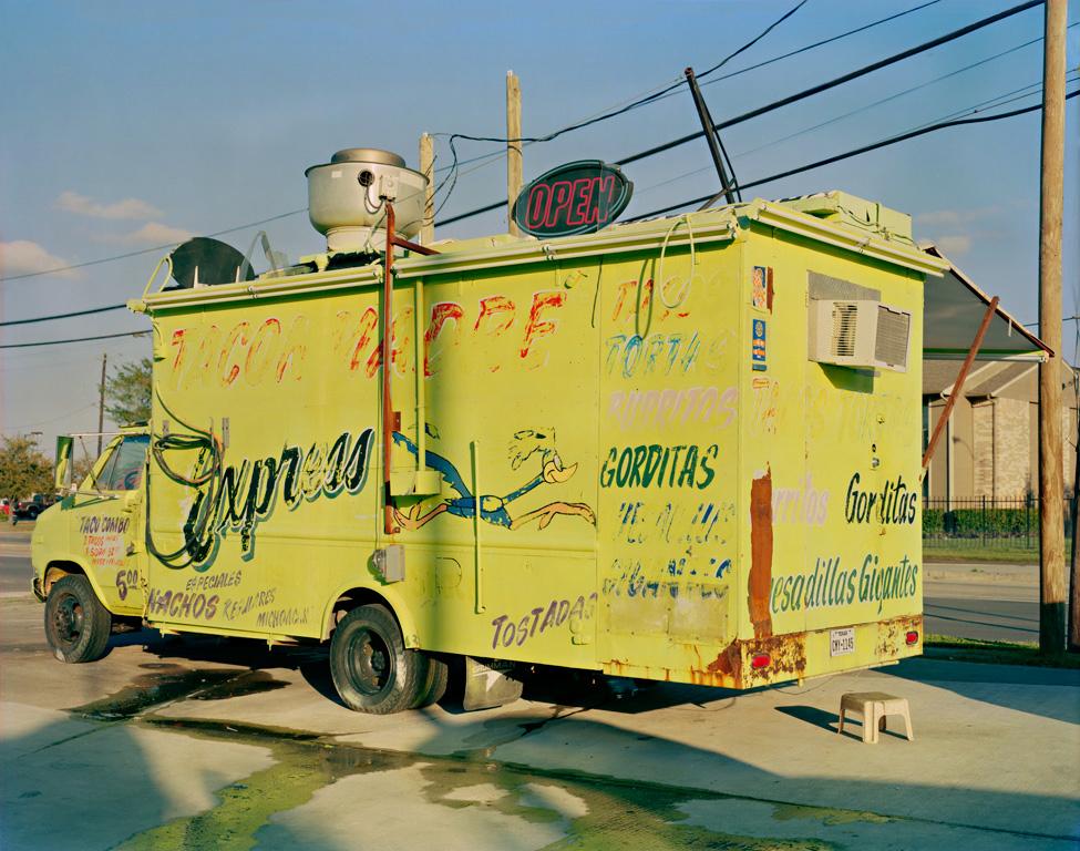 Jim Dow, Taco Madre Express Taco Truck, Houston, TX 2014