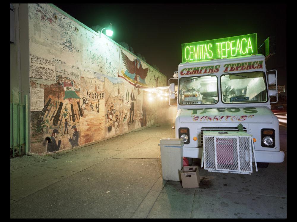 Jim Dow, Cemitas Tepeaca, Five Points, Boyle Heights, Los Angeles, CA 2009