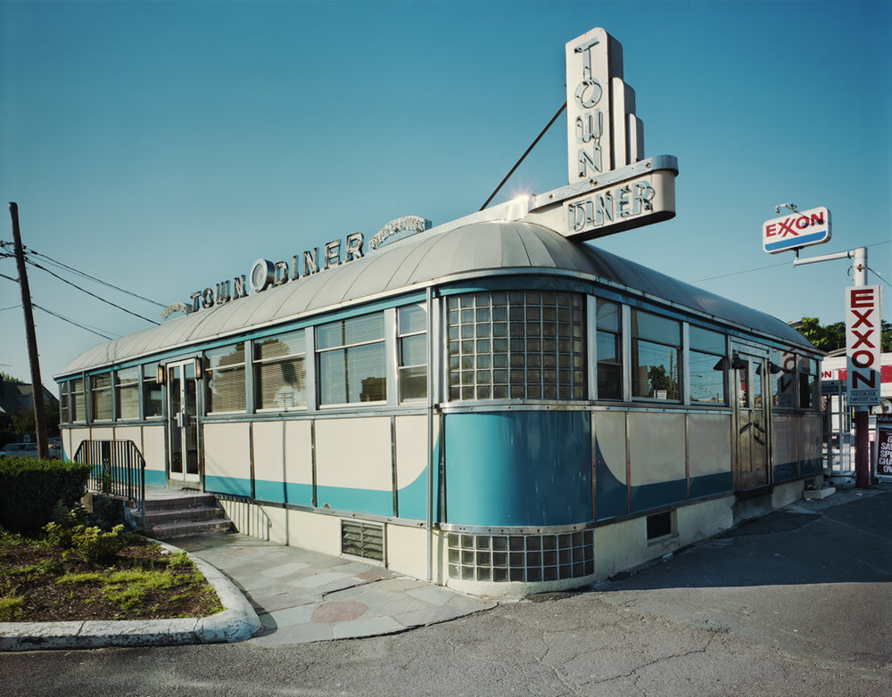 JIM DOW, T he Town Diner, US 20, Watertown, Massachusetts,  1980