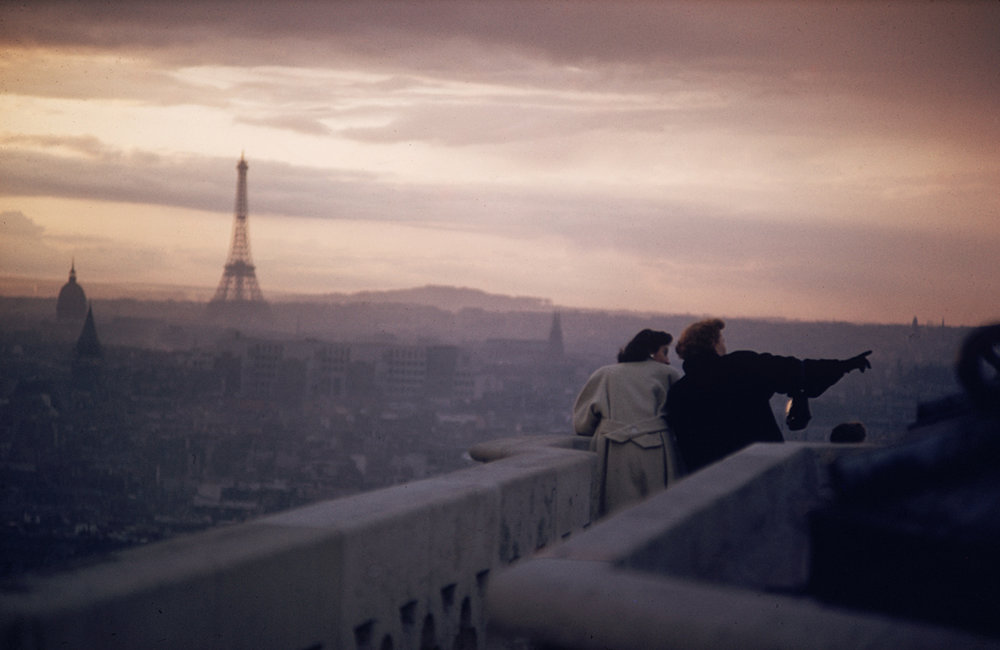 ERNST HAAS,  Views From Notre Dame, Paris, 1955