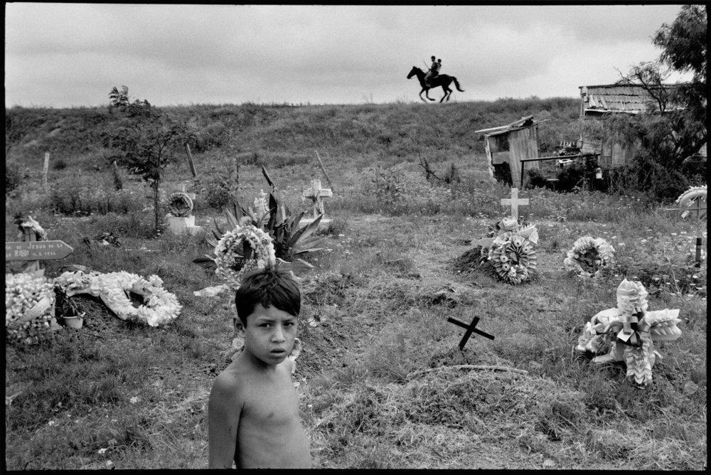 ALEX WEBB,  La Calle, Matamoros, Mexico,  1978