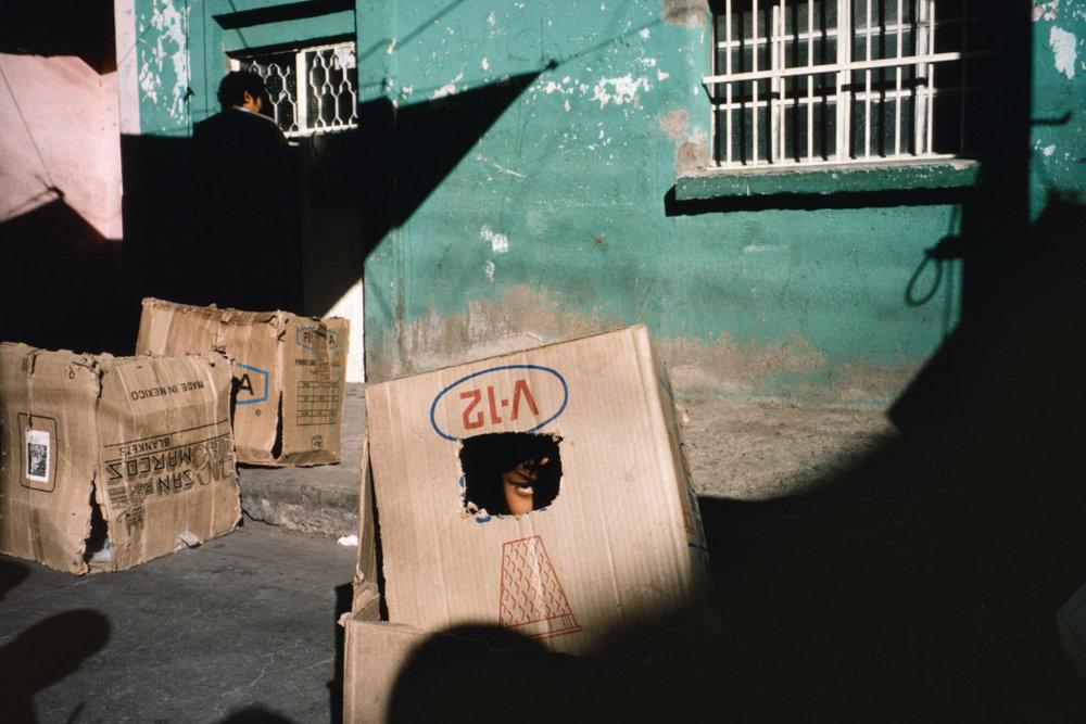 ALEX WEBB,  La Calle, Ciudad Madero, Mexico,  1983