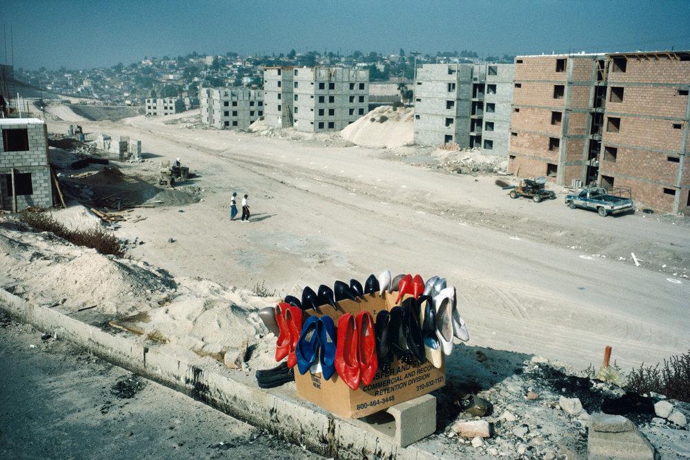 ALEX WEBB,  La Calle, Tijuana, Mexico,  1995