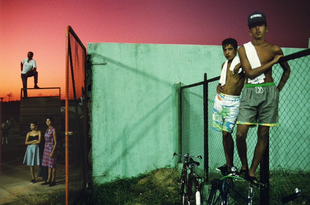 ALEX WEBB,  Violet Isle: A Duet of Photographs from Cuba, Sancti Spíritus, Cuba,  1993