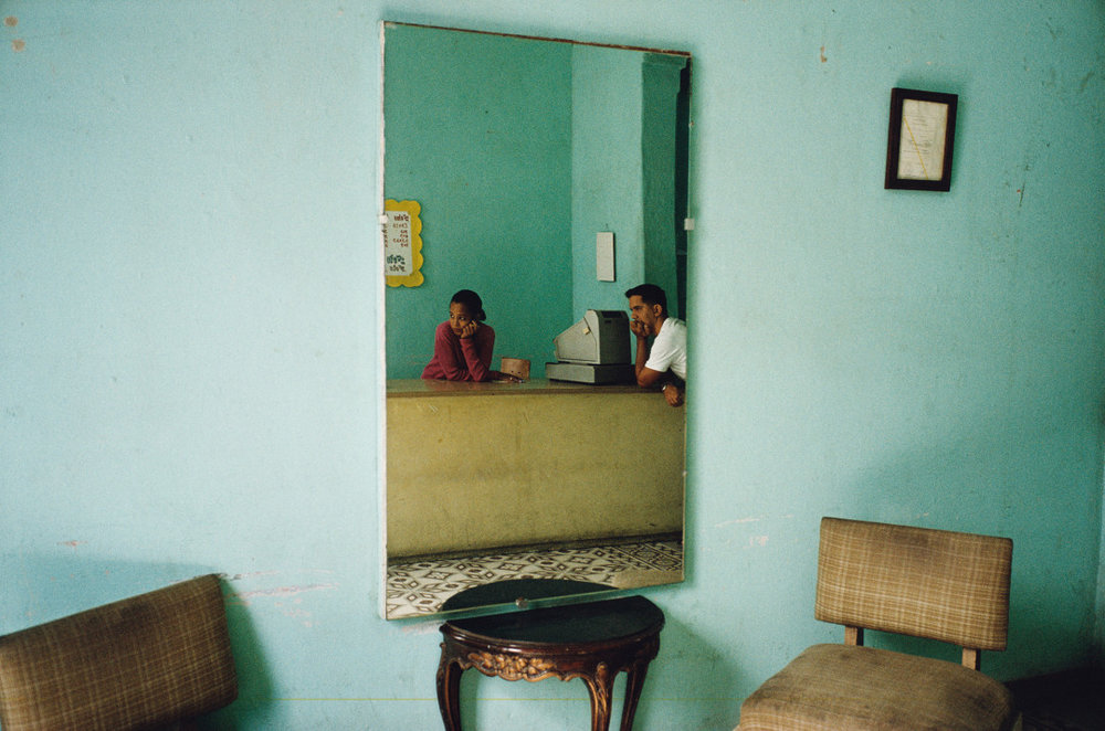 ALEX WEBB,  Violet Isle: A Duet of Photographs from Cuba, Havana, Cuba,  2007