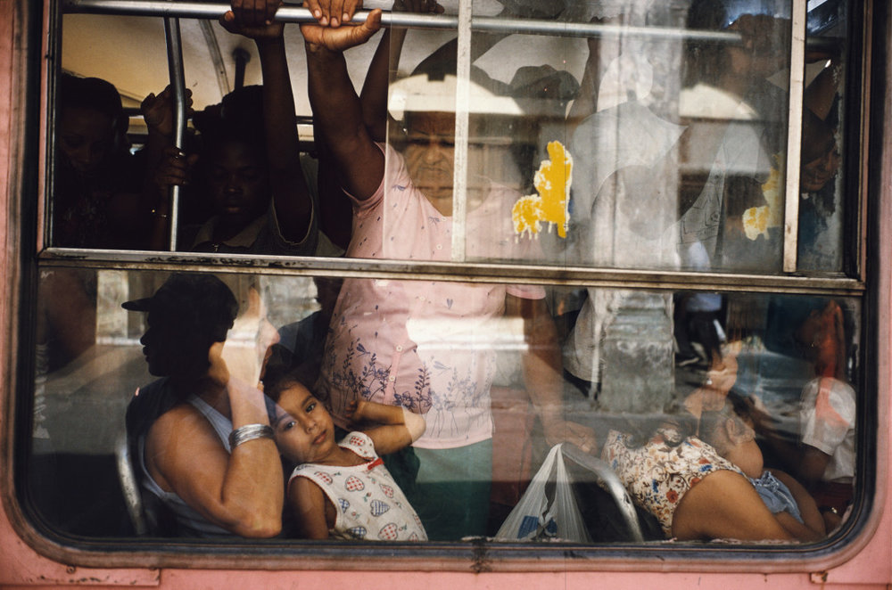 ALEX WEBB,  Violet Isle: A Duet of Photographs from Cuba, Havana, Cuba,  2001