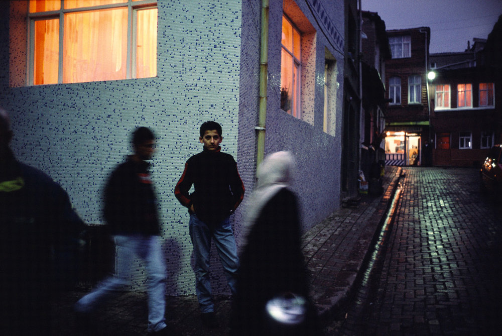 ALEX WEBB,  Istanbul: City of 100 Names,  2001