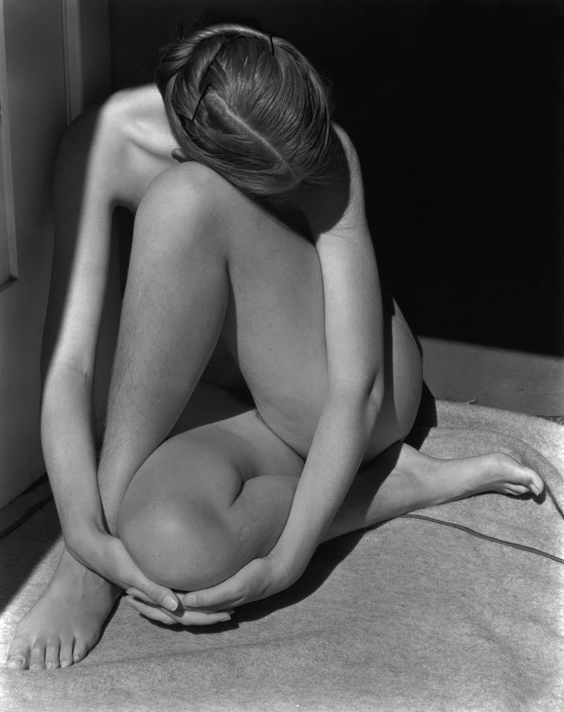 EDWARD WESTON,  Charis in Doorway, Santa Monica, California,  1936