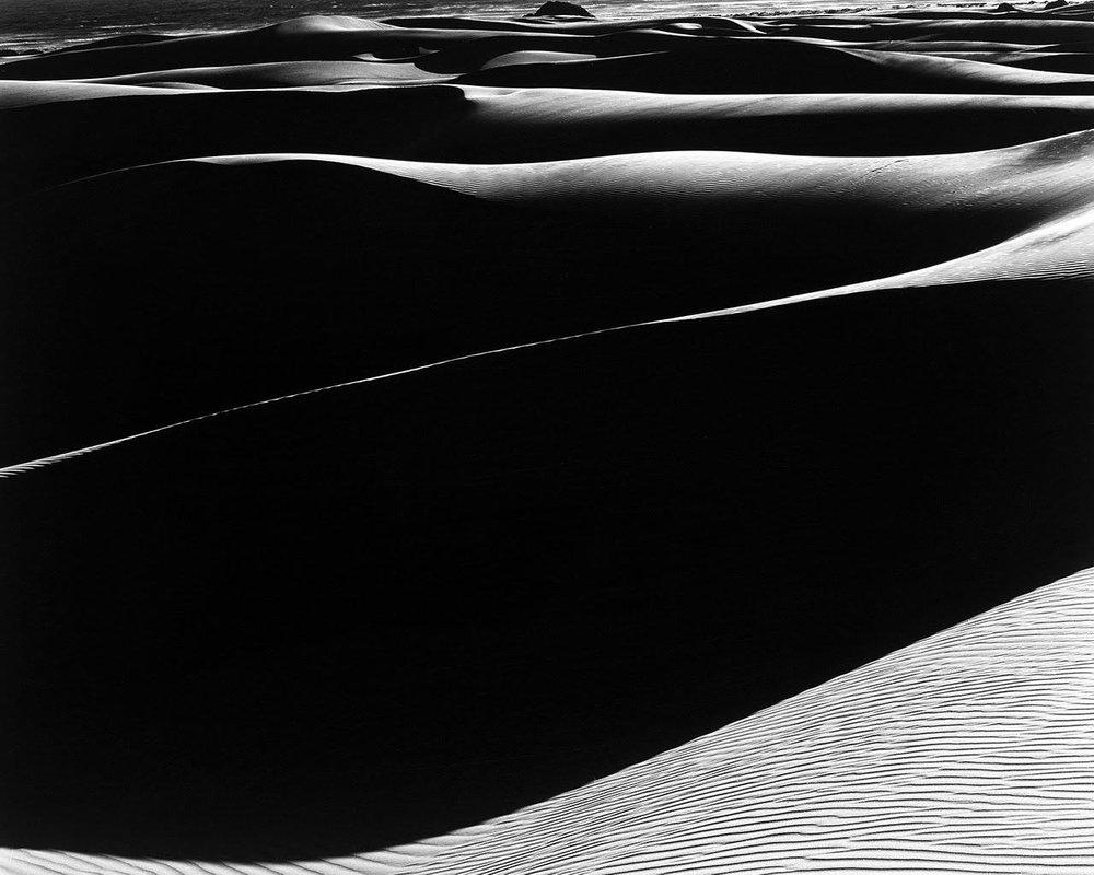 EDWARD WESTON,  Dunes, Oceano S-37,  1936