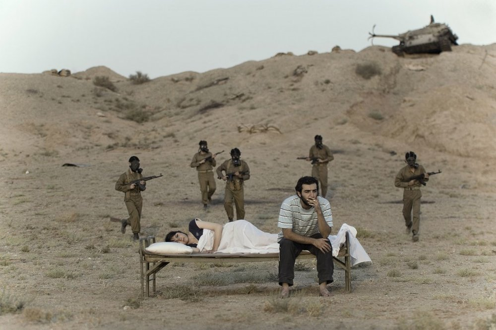 GOHAR DASHTI,  Today's Life and War No. 9 , 2008