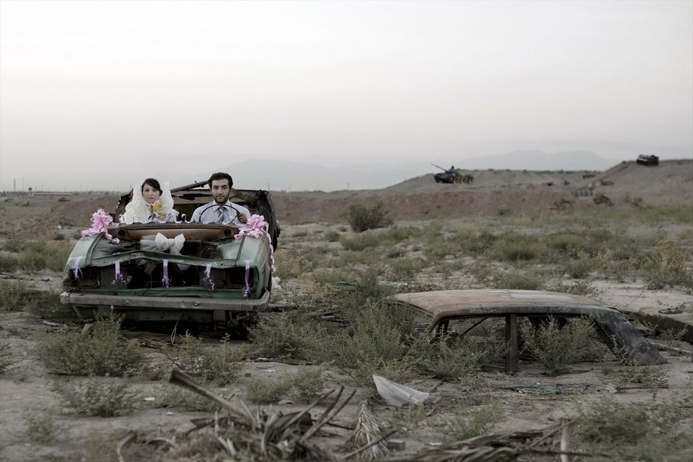 GOHAR DASHTI,  Today's Life and War No. 10 , 2008