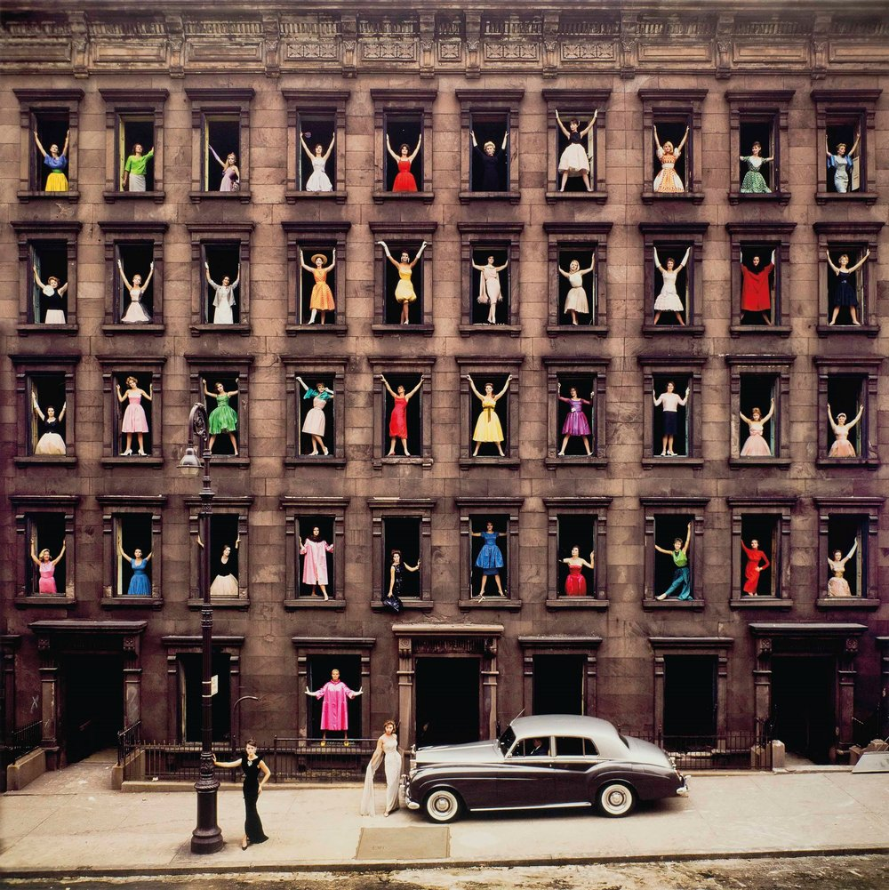 ORMOND GIGLI , Girls in the Windows,  1960