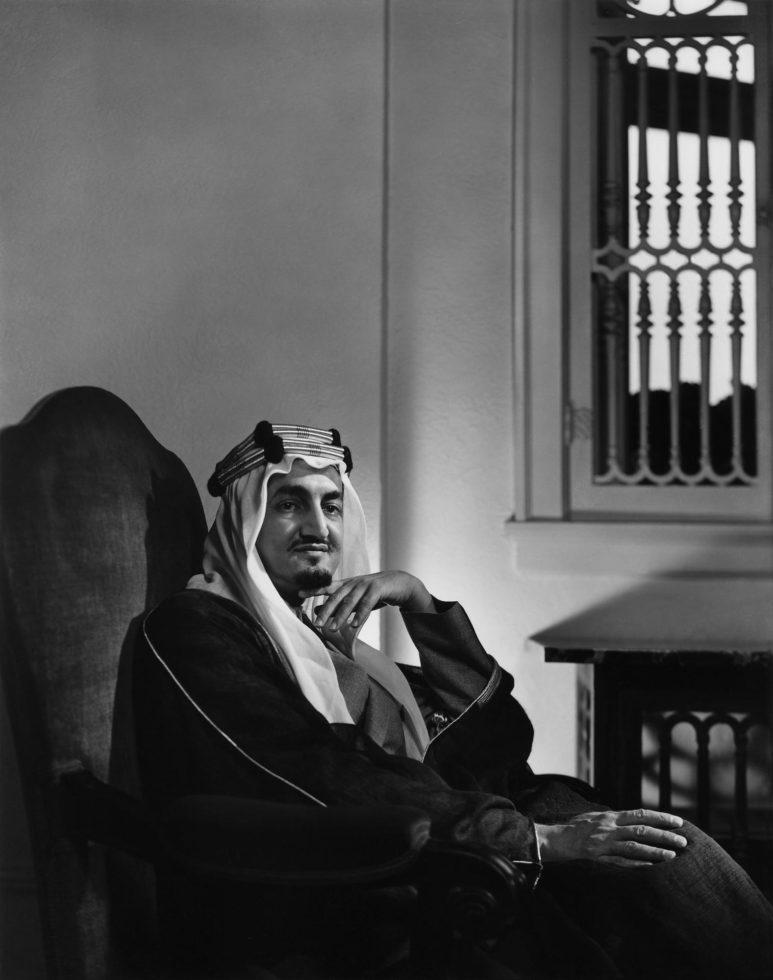 YOUSUF KARSH,  King Faisal,  1945