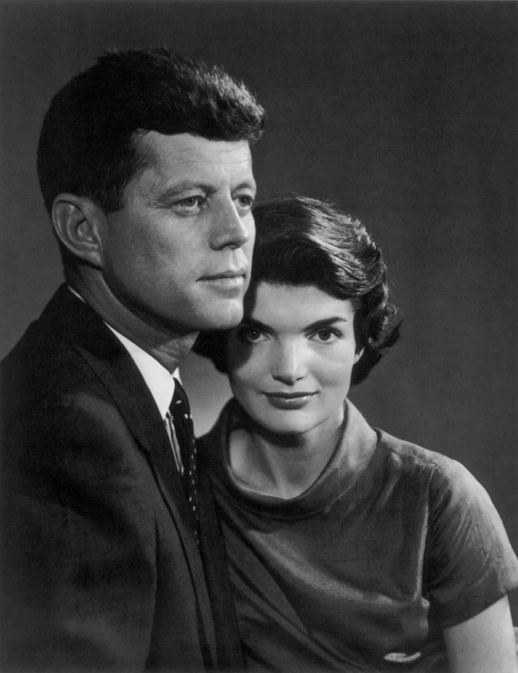 YOUSUF KARSH,  John and Jackie Kennedy,  1957