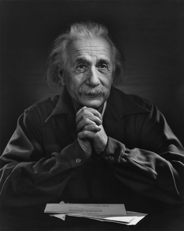 YOUSUF KARSH,  Albert Einstein,  1948